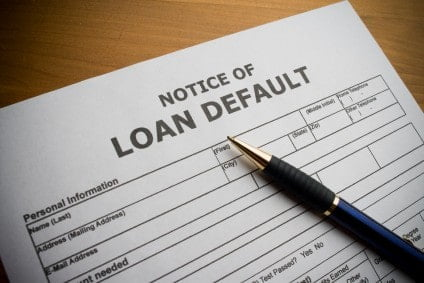 Private student loan default options
